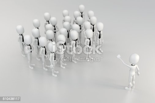 istock 3d business man leader 510438117