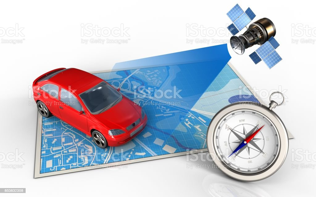 3d Car Stock Photo More Pictures Of Arrow Symbol Istock