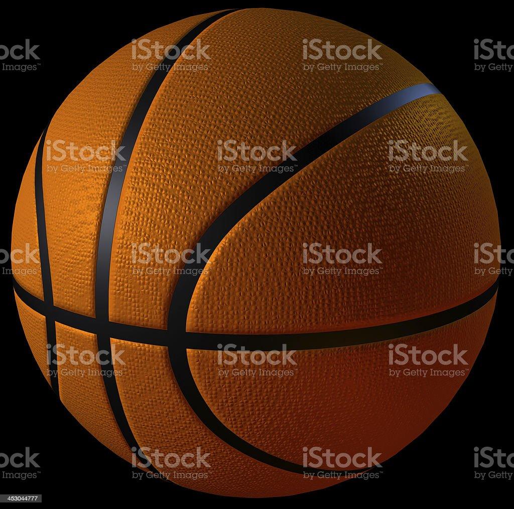 3d cgi basketball stock photo