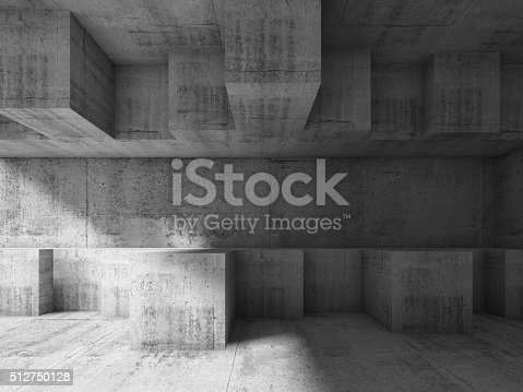 585055656 istock photo 3d chaotic cubic structure. Modern architecture 512750128