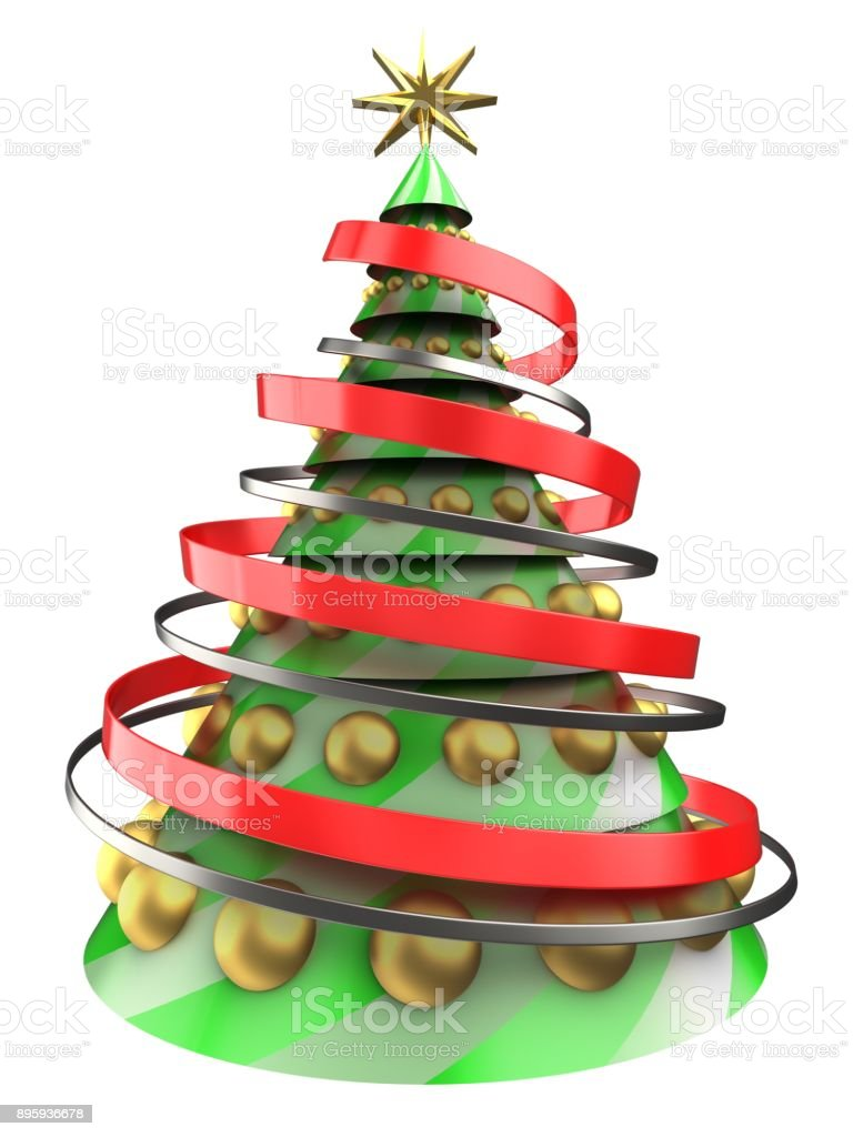 3d christmas tree stock photo istock for 3d christmas decoration