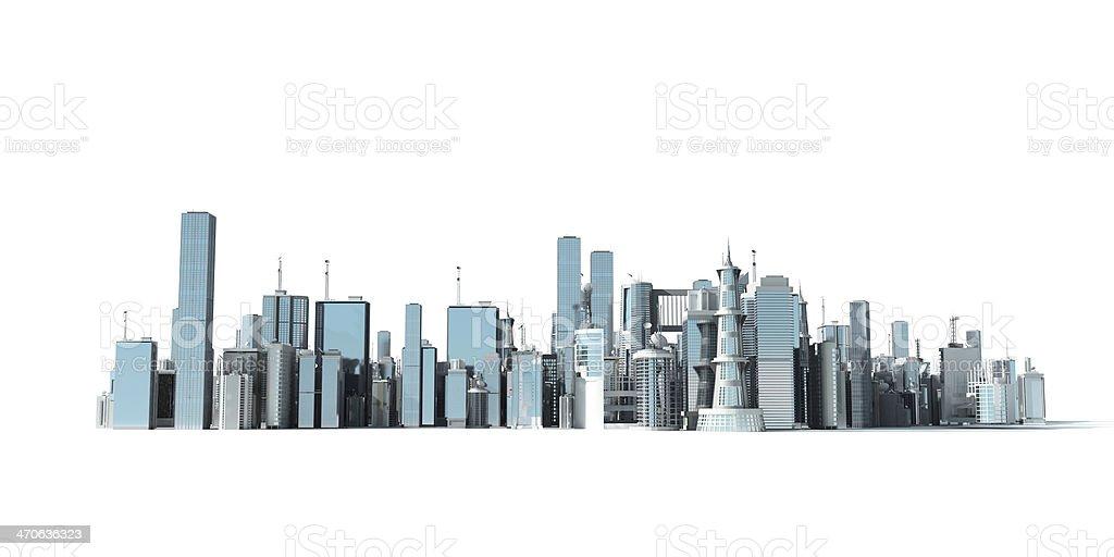 3d city stock photo