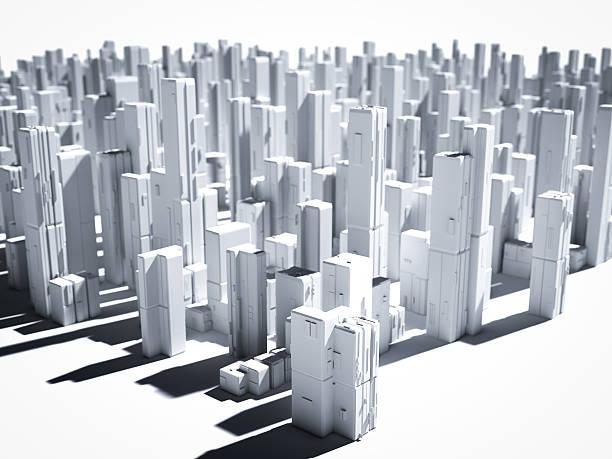 3 d 市 - 模型 ストックフォトと画像