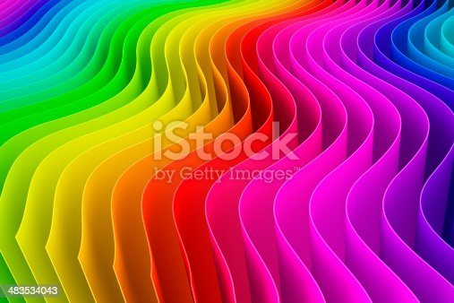 istock 3d color swatch background 483534043