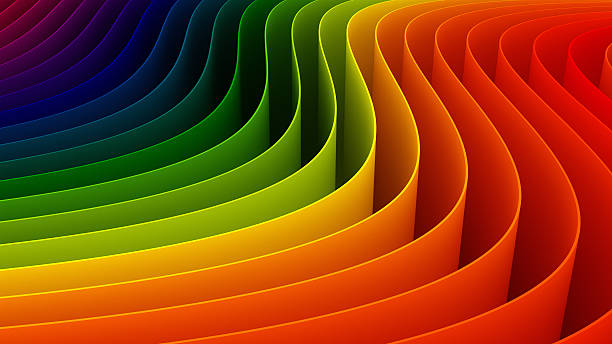 3d colorful background - spectrum stock pictures, royalty-free photos & images