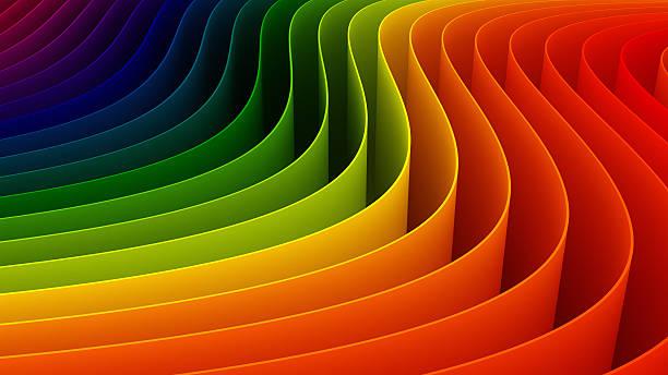 3 d farbigen Hintergrund – Foto