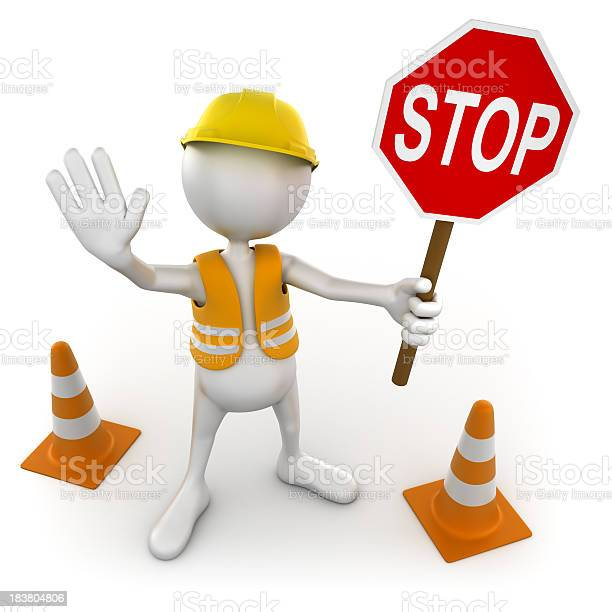 3d costruction worker with stop sign isolated clipping path picture id183804806?b=1&k=6&m=183804806&s=612x612&h=zjnr8sm43ub2brxvnz6cygq4bhdyjaebnudoh7fcxmc=
