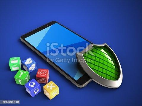 istock 3d cubes 860484318