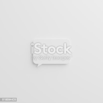 istock 3d diaologue bubble 518594425