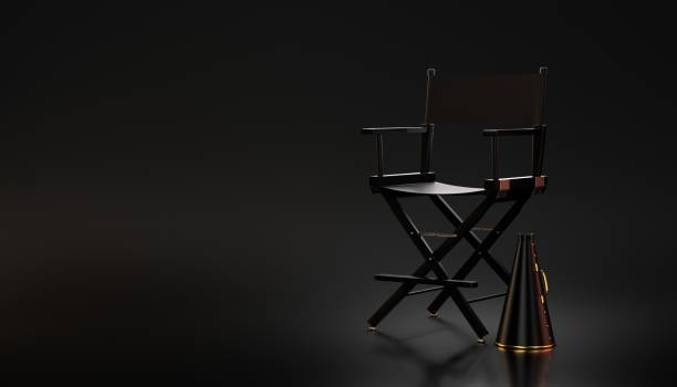 Background Of A Film Director Chair Stock Photos, Pictures ...