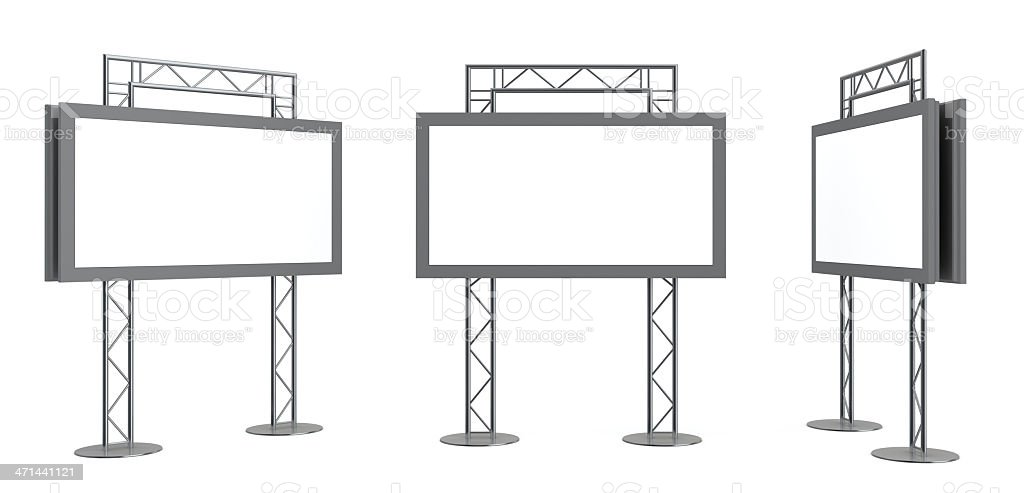 3d display installation royalty-free stock photo