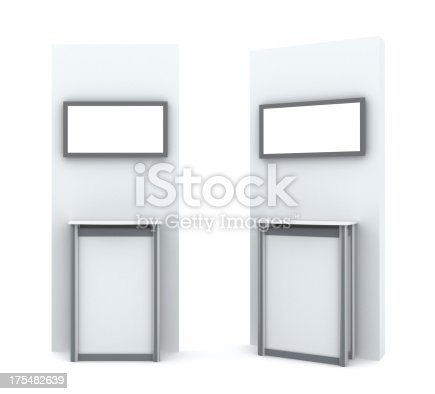 istock 3d display stand with plazma 175482639