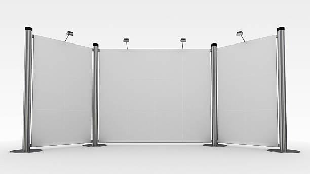 3 d display, publicidad soporte de exhibición - stand fotografías e imágenes de stock