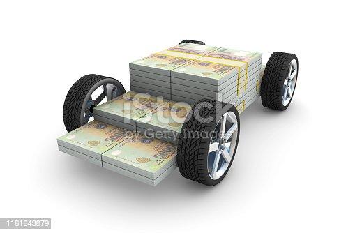 3d Dongs on wheels