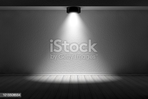1015509020istockphoto 3d empty interior template with spotlight 1015508554