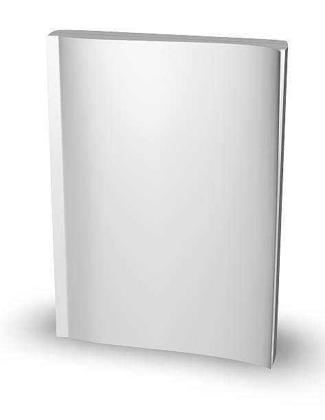3 d leere papier magazine, tagebuch vorlage mit leere cover stehen - planner inserts stock-fotos und bilder
