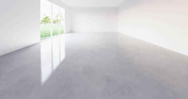 3d tomt rum - golv bildbanksfoton och bilder