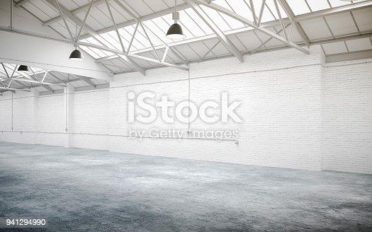 istock 3d empty underground parking space 941294990