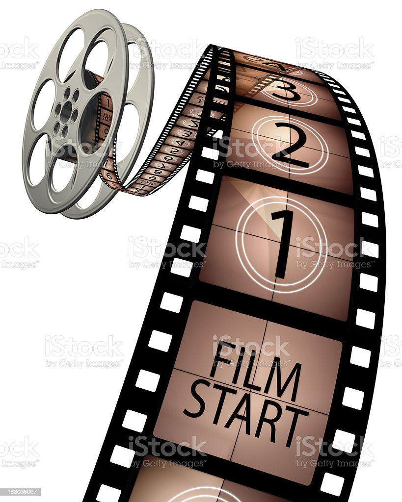 Film Countdown: 3d Film Leader Countdown Stock Photo & More Pictures Of