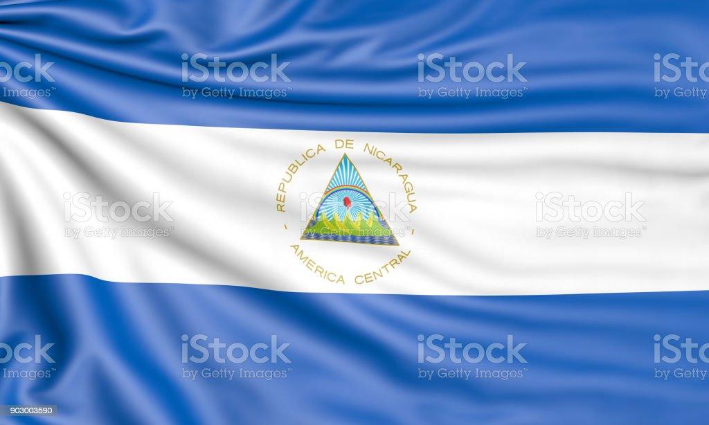 Bandera 3D - foto de stock