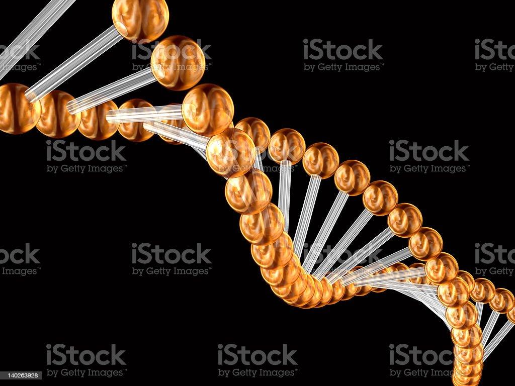 3d genetic code stock photo