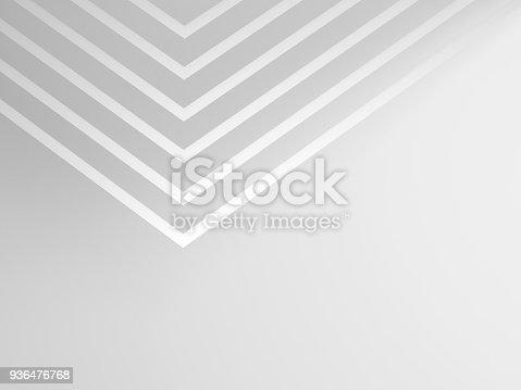 927319980 istock photo 3d geometric pattern of corners 936476768