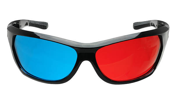 3d glasses  3 d glasses stock pictures, royalty-free photos & images