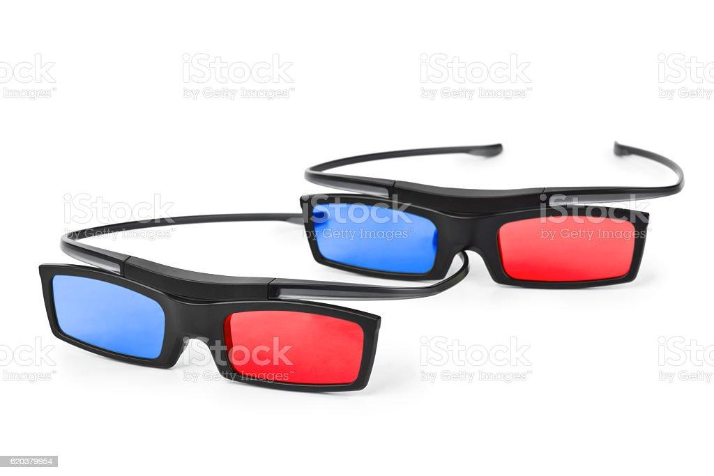 3 d okulary  zbiór zdjęć royalty-free
