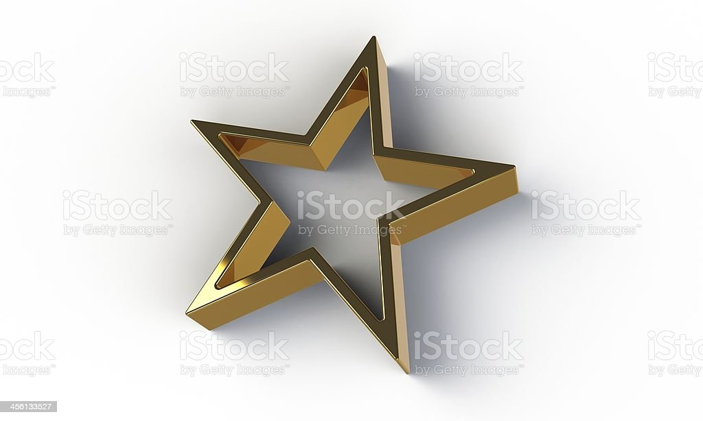 3d gold star isolated on white stock photo more pictures of award