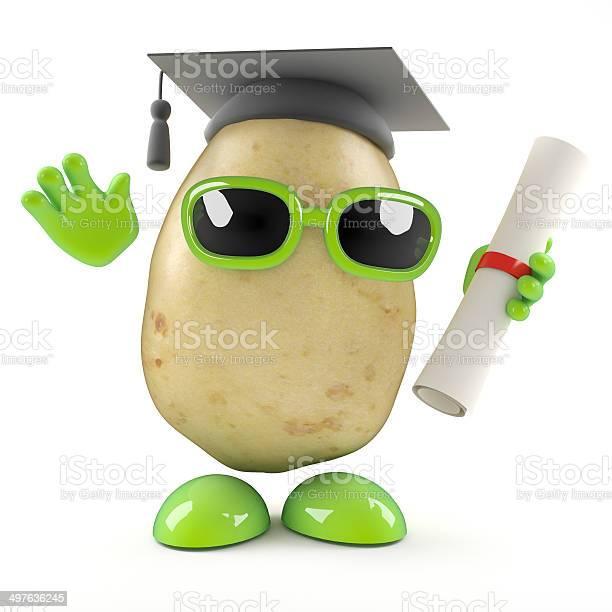 3d graduate potato picture id497636245?b=1&k=6&m=497636245&s=612x612&h=oyy51opq o4qq7iq8ynkcxdeddow dvfn5qu tdacog=