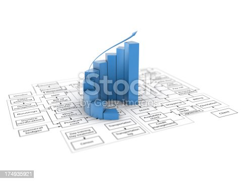 istock 3d graph and flowchart 174935921