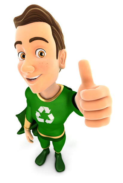 3d green hero positive pose with thumb up picture id950429012?b=1&k=6&m=950429012&s=612x612&w=0&h=cmv17xztxtq rhfskea1o 9m80q8a3udoyp3iebahbs=