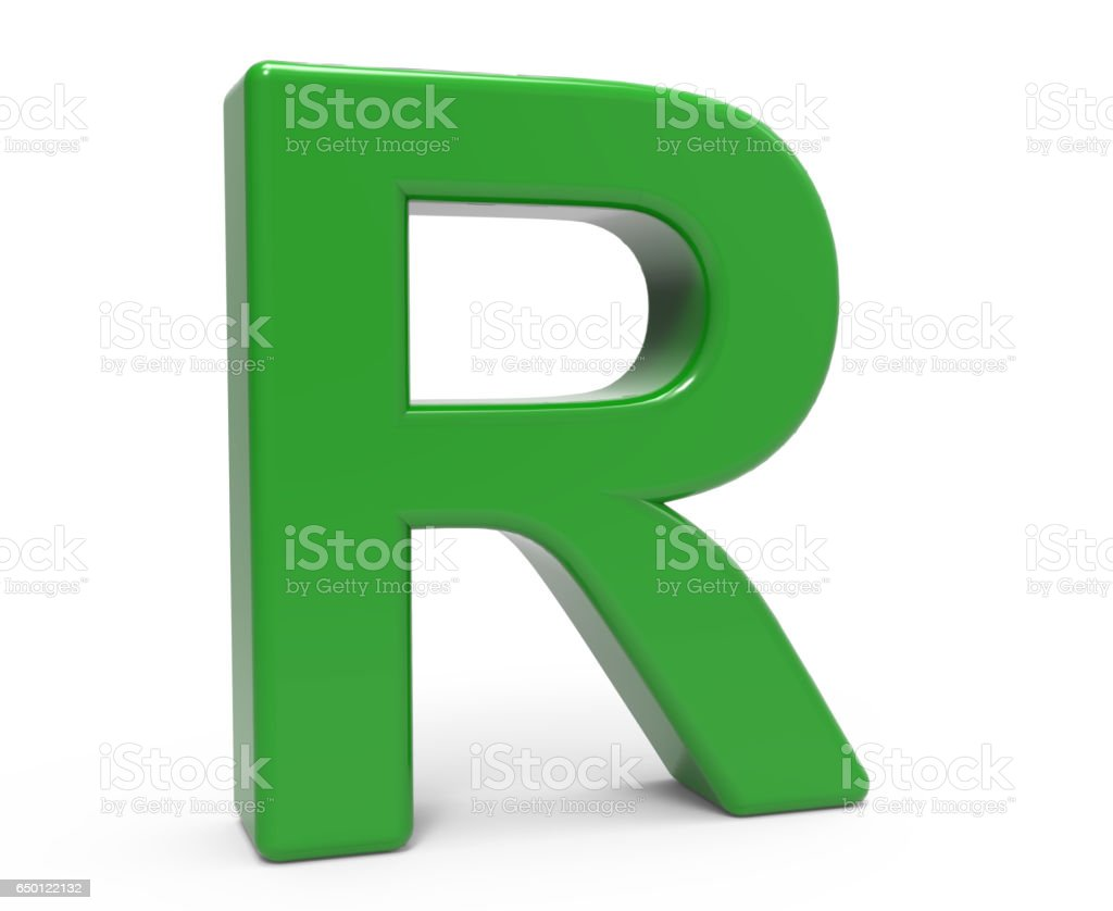 3d green letter r stock photo more pictures of alphabet istock 3d green letter r royalty free stock photo thecheapjerseys Image collections