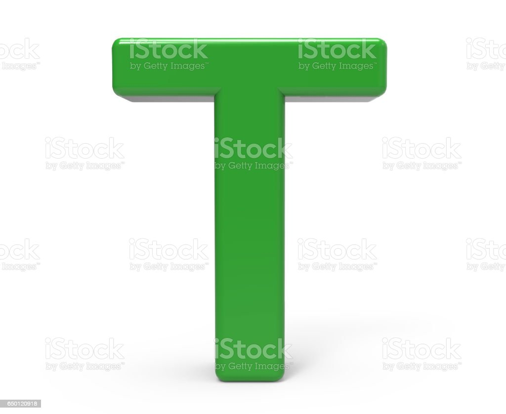 royalty free clip art of a 3d letter t pictures images
