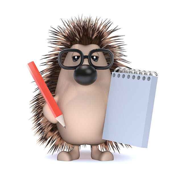 3d hedgehog takes notes at the meeting picture id522128261?b=1&k=6&m=522128261&s=612x612&w=0&h=bomw71yaxtswtrz7fnhmafz2tpljxw eoaf9f9ry lg=