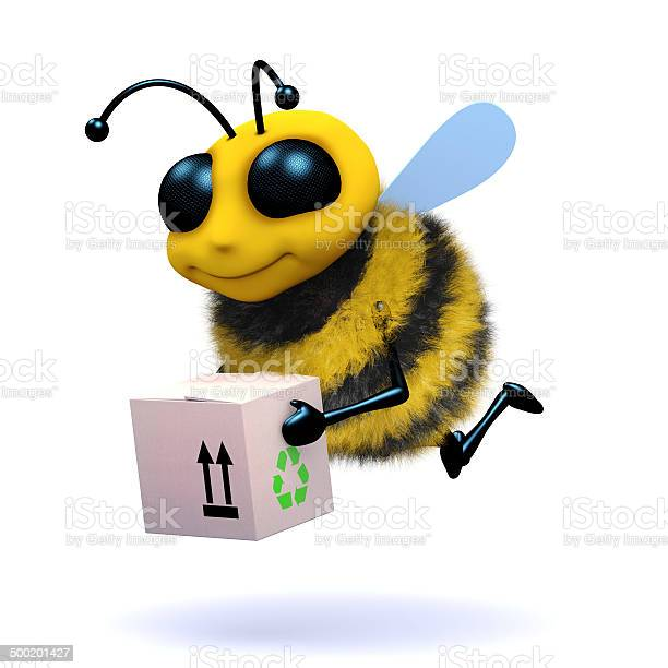 3d honey bee delivers a box picture id500201427?b=1&k=6&m=500201427&s=612x612&h=orcyjiw2ra0hyfri9k2bhsxwtwct2mk3xutibixaug4=