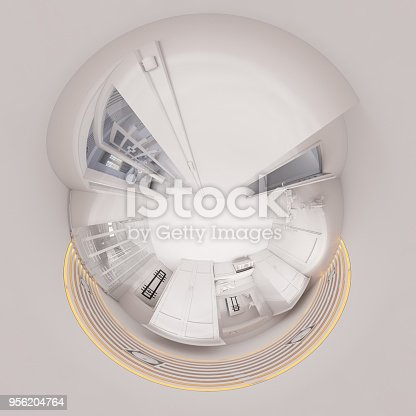 938518926istockphoto 3d illustration 360 degree panorama hall interior design in classic style 956204764