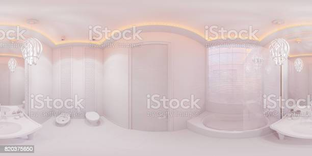 3d illustration 360 degrees panorama bathroom picture id820375650?b=1&k=6&m=820375650&s=612x612&h=5u57sv00kfm8rdbz6gfecy5dx4ro6jbqlovrfcfb63w=