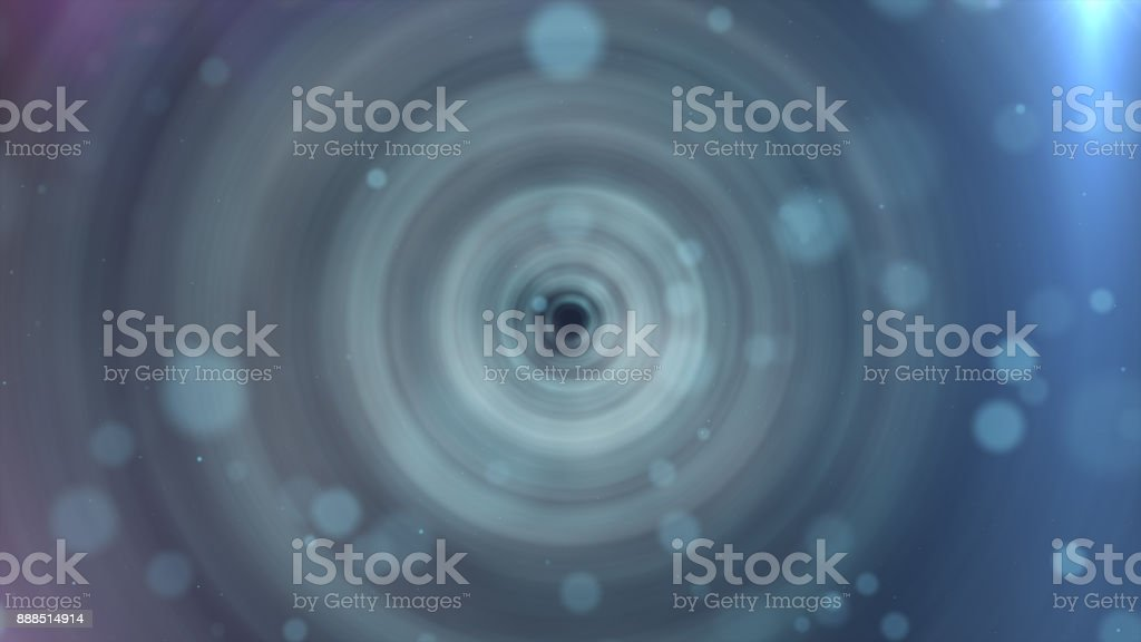 3d illustration abstract motion background, shining lights, energy waves and sparkling particles stock photo