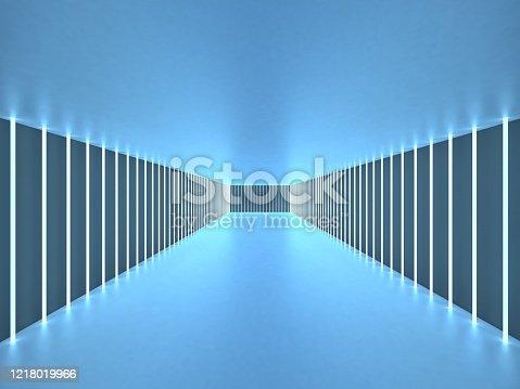 949309726 istock photo 3d illustration abstract tunnel 1218019966