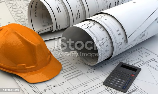 536971177 istock photo 3d illustration of  Blueprints 512803959