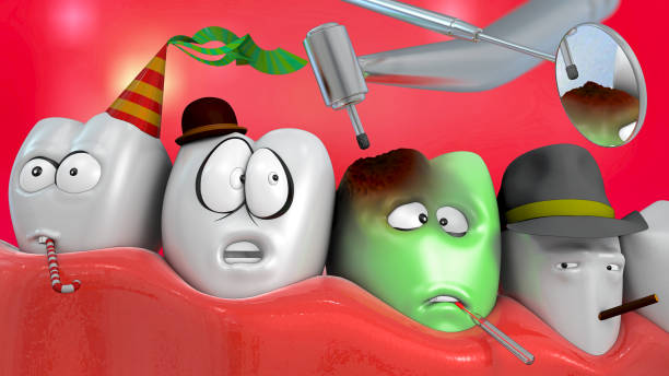 3d illustration of comic tooth with dentist drill and mirror picture id852110462?b=1&k=6&m=852110462&s=612x612&w=0&h=hewvkfs2grqdtxxthdpnovtjehg7byy skmqo7qgedg=