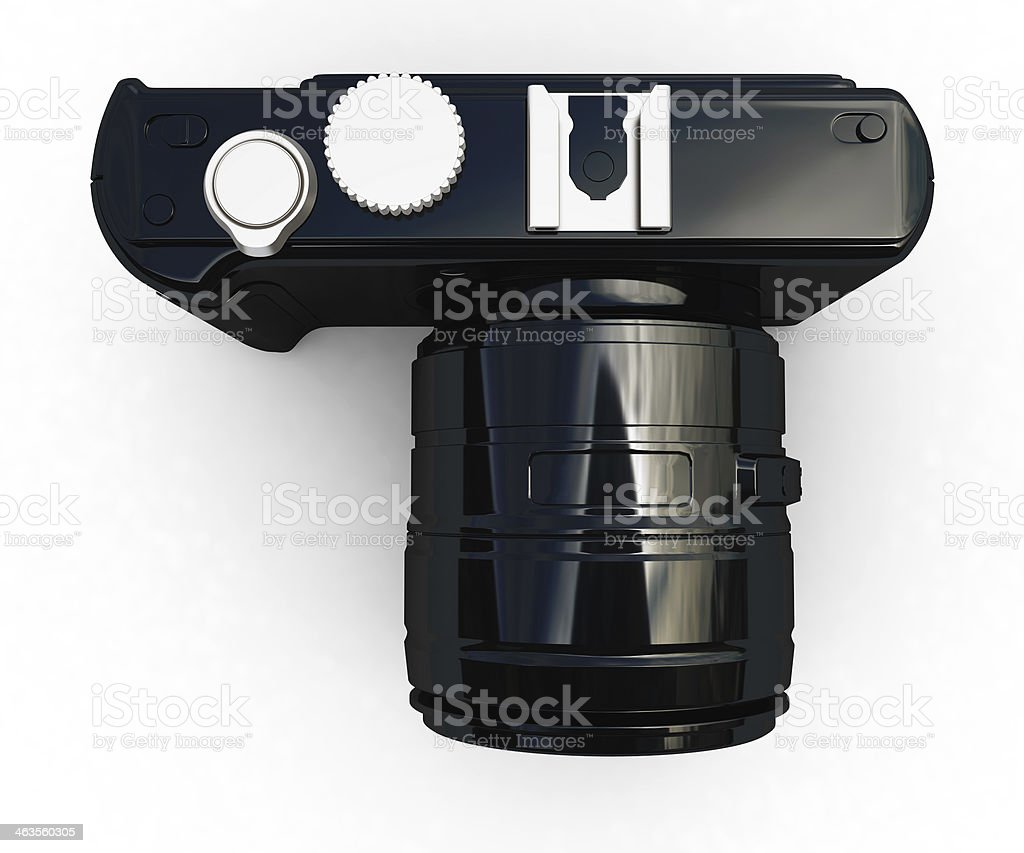 3d illustration of photographic camera royalty-free stock photo