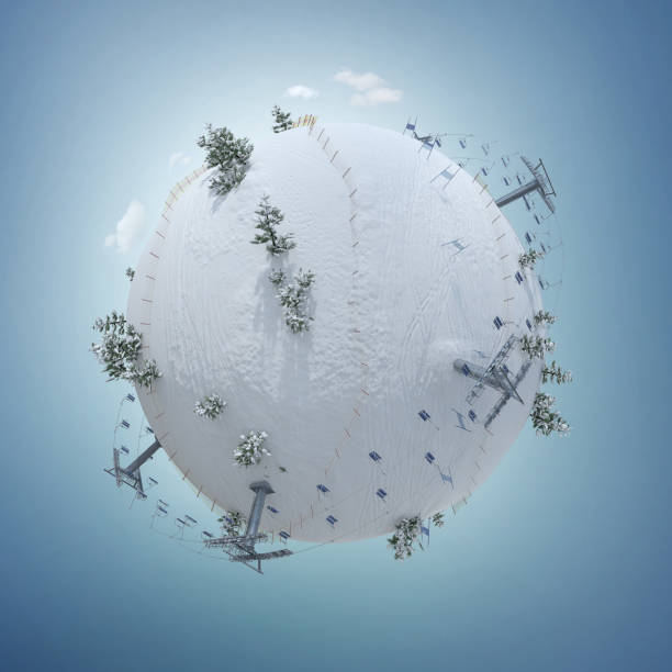 3d illustration of the winter planet with ski resort slope and ski picture id1063607118?b=1&k=6&m=1063607118&s=612x612&w=0&h=mfqlwngo6llhyq wnr d7u rzm7g2wer2lax9tyhqak=