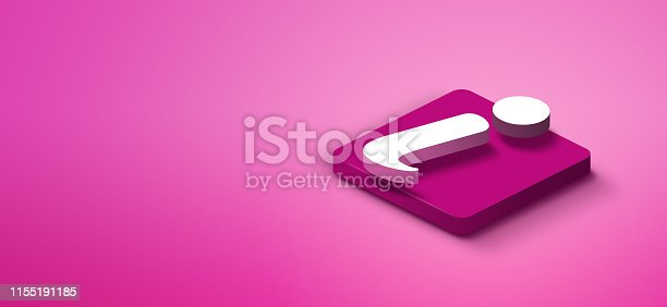 1155191162istockphoto 3d info sign on pink abstract background 1155191185