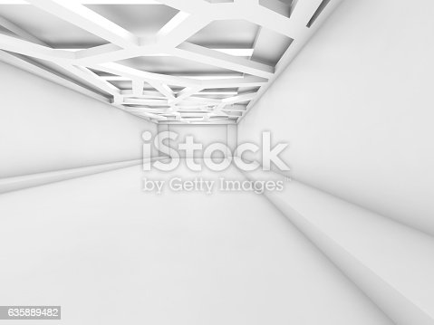 623616378 istock photo 3d interior, ceiling light system 635889482
