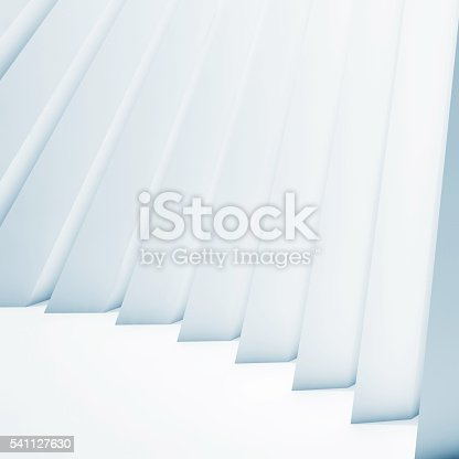 623616378 istock photo 3d  interior with decorative wall structure 541127630
