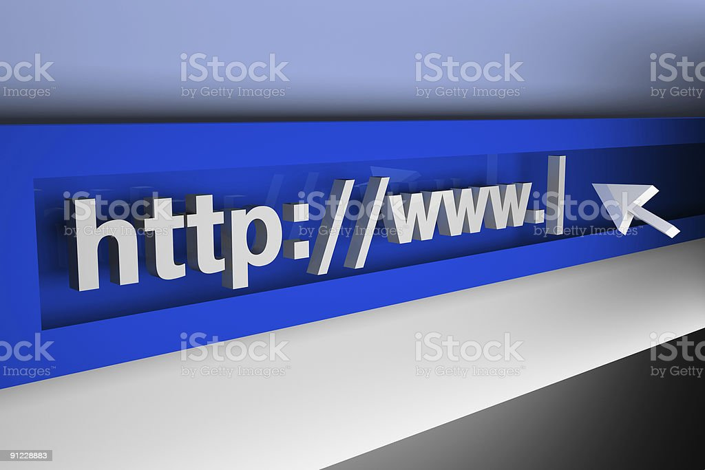 3d internet concept  Abstract Stock Photo