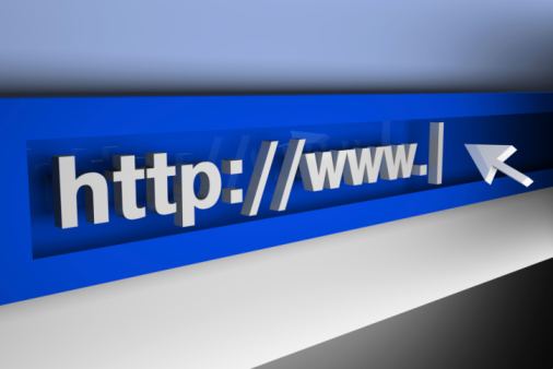 3d Internet Concept Stock Photo - Download Image Now