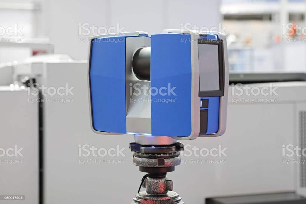 3d Laser Scanner Stock Photo - Download Image Now - iStock